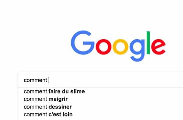Voici ce que vous avez le plus cherché sur Google en 2017!