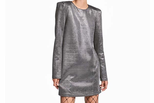 robe-argentée-hm