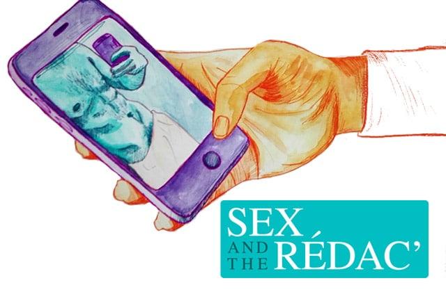 Un appel à un exetun baiser avec un inconnu dans Sex&the Rédac#9