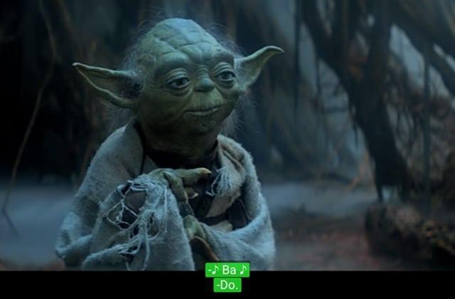 Les persos de Star Wars chantent MMMBop du groupe Hanson et c'est golri