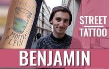 Street Tattoos—Benjamin et ses tatouages hommage à sa famille