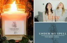Les bougies UnderMySpell, la création de Marina, ancienne rédactrice de madmoiZelle