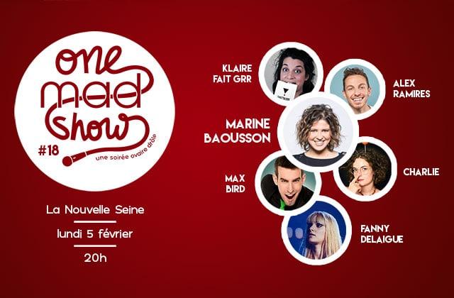 [ONE MAD SHOW] Klaire fait Grr, Charlie, Alex Ramires & cie sur la scène de madmoiZelle !
