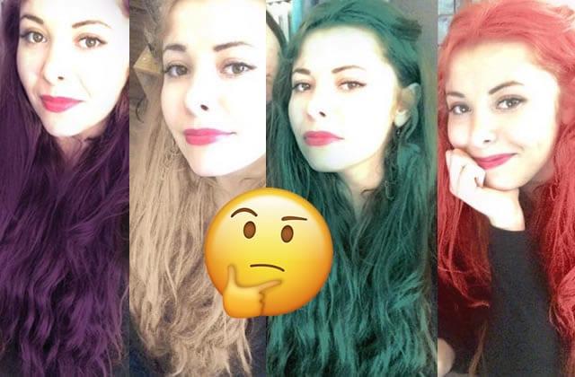 Application couleur cheveux l'oreal