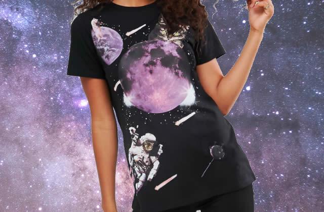 3 tenues spatiales pour la Grosse Teuf de l'espace du 19 janvier 2018