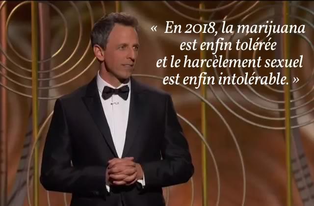 Le périlleux discours d'ouverture des premiers Golden Globes post-#MeToo