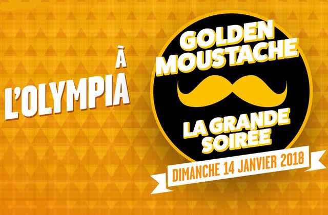 [CONCOURS]Gagne tes places pour la soirée Golden Moustache à l'Olympia!