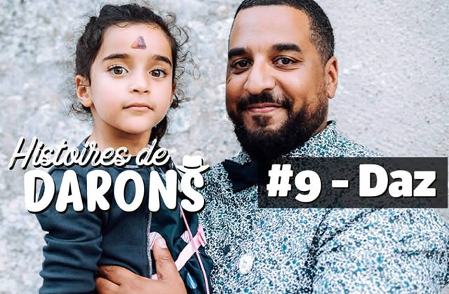 Daz parle de sa fille de 5ans, de racisme, de clichés genrés dans Histoires de Darons!