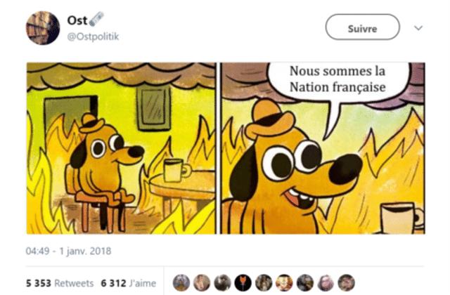 À la fin on meurt, mais en attendant, soyons la Nation française