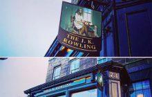 The J.K. Rowling, le pub éphémère écossais, nouveau lieu de pèlerinage des potterheads