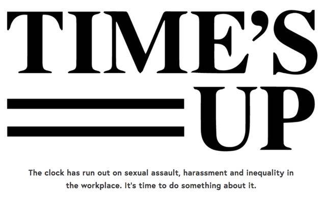 #TimesUp pour les violences sexuelles aux États-Unis: les femmes d'Hollywood se mobilisent