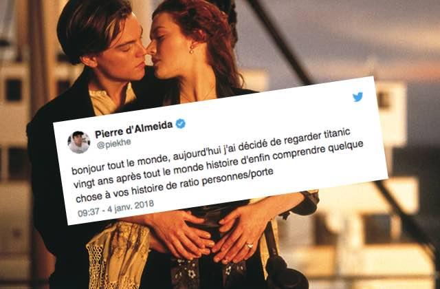 Il voit Titanic pour la première fois et en fait un live-tweet hilarant !