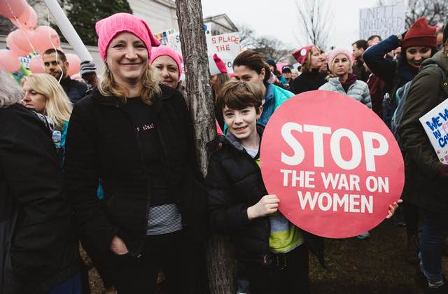 La Women's March 2018, entre discours marquants et pancartes qui claquent