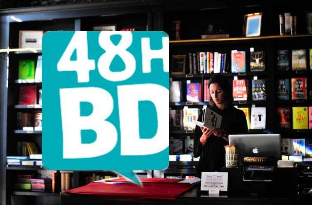 Les 48H de la BD reviennent au mois d'avril avec des livres à 2€ !