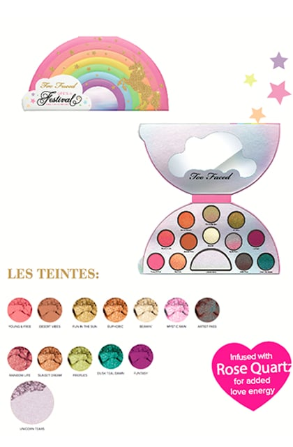 Too Faced collection Life is a festival