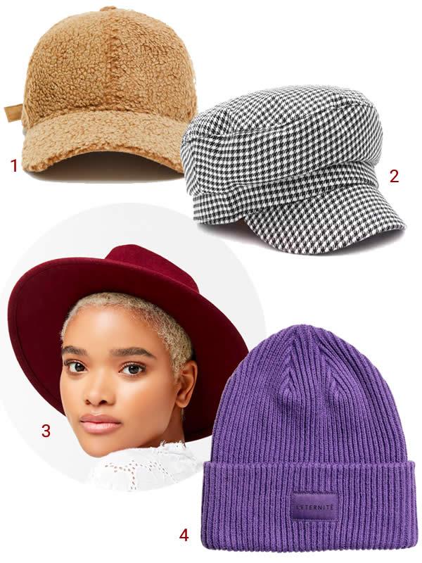 chapeau stylés hiver 2018