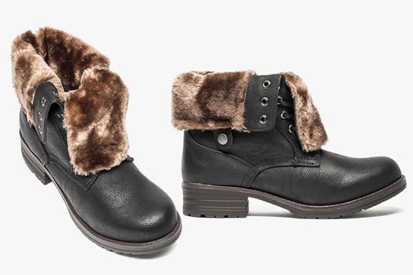 boots-fourrure