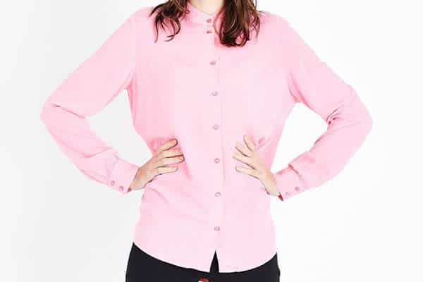 chemise rose new look