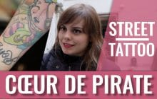Clotilde et son tatouage méduse — Street Tattoo