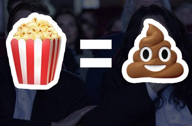 Six trucs INSUPPORTABLES que les gens font au cinéma