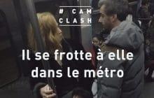 Un «frotteur du métro» fait réagir dans Cam Clash
