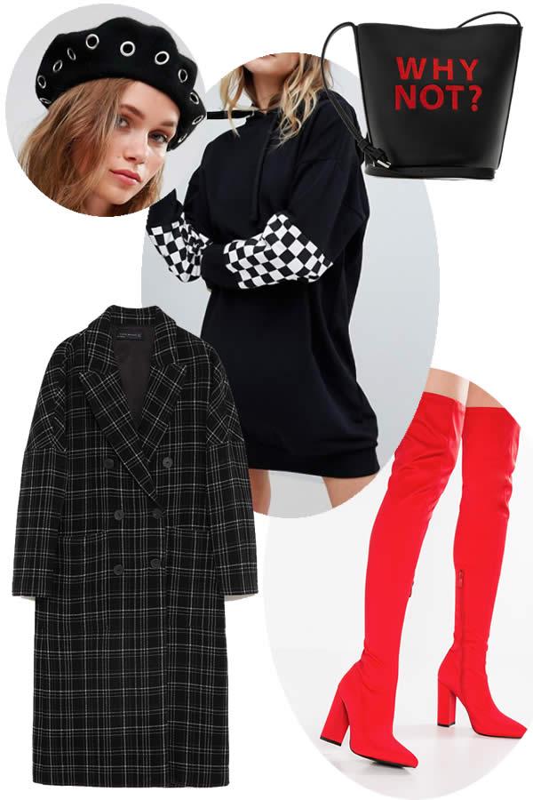 look sportswear comme Malebitch