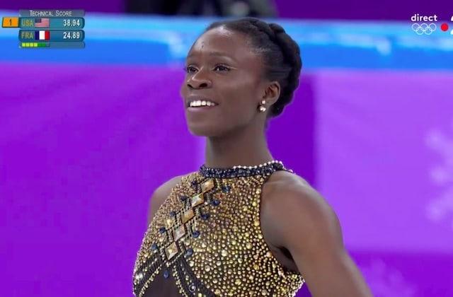 La patineuse Maé-Bérénice Méité déchire tout aux JO 2018 sur du Beyoncé