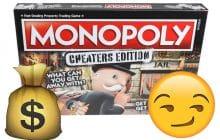 Monopoly permet aux tricheurs de s'épanouir dans le jeu avec sa nouvelle version