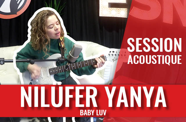 La londonienne Nilüfer Yanya interprète Baby Luv en session