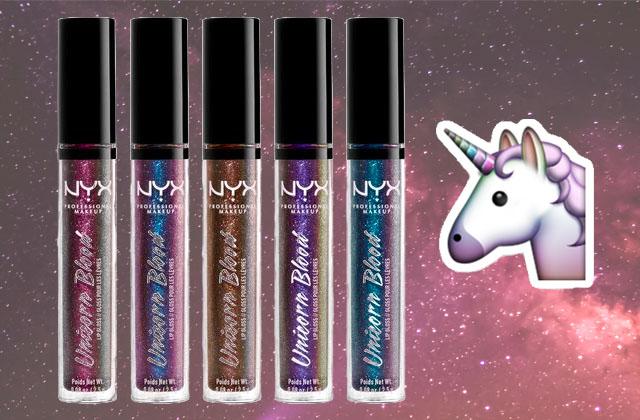 NYX célèbre la licorne dans sa nouvelle collection de gloss