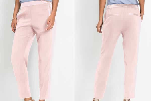 pantalon rose bonprix