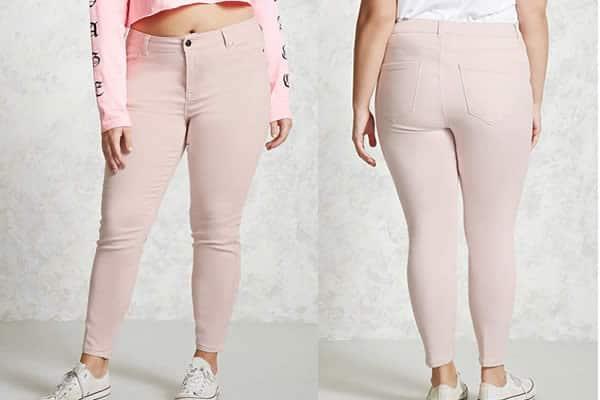 pantalon curve Forever 21