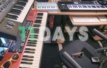 Le nouveau projet de PV Nova, 11 days, démarre aujourd'hui sur les chapeaux de roue !