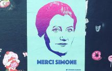 Des affiches #MerciSimone (Veil) pour son entrée au Panthéon !