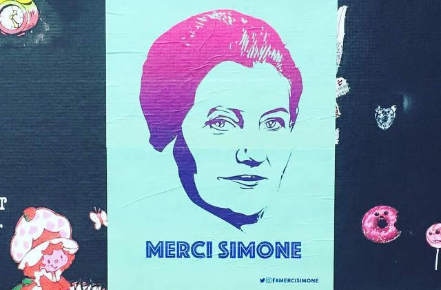 Pour le 8 mars, disons #MerciSimone (Veil) à travers la France !
