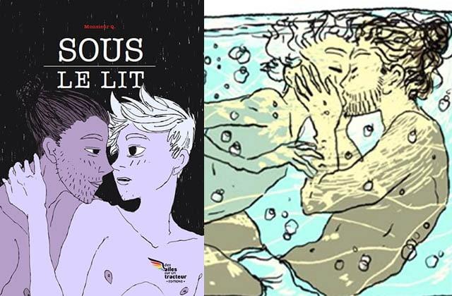 Sous le lit, la bande dessinée de Monsieur Q., est disponible en ebook !