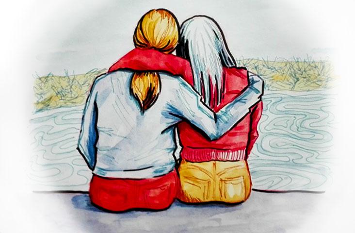 Comment j'ai survécu à ma rupture grâce à mes proches–Carnet de rupture #6