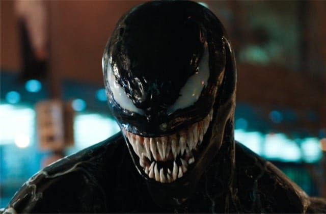 Venom (avec Tom Hardy) dévoile ses crocs acérés dans une bande-annonce officielle