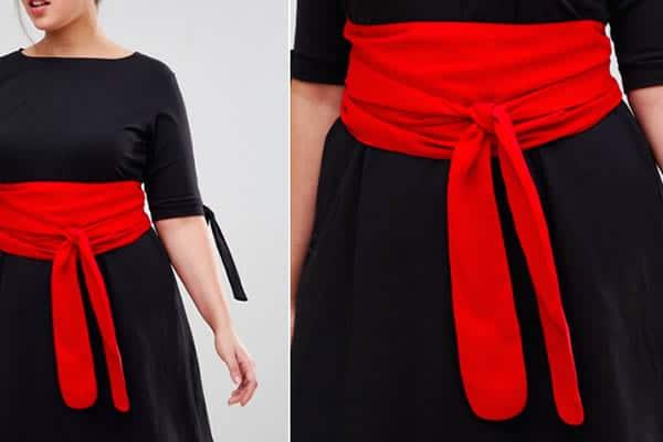 ceinture large style obi Asos