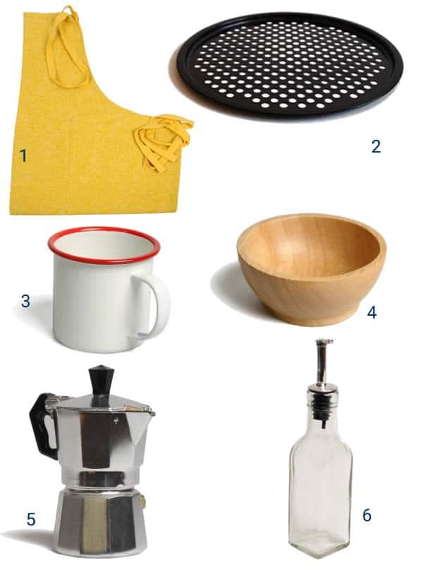 dille et kamille objets cuisine