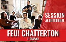 Séverin chante « France » en acoustique