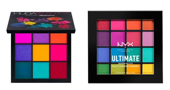 Dupe palette Electric Obsession d'Huda Beauty NYX