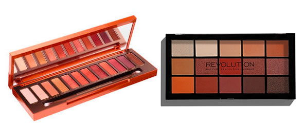 Dupe Naked Heat d'Urban Decay chez Make Up Revolution