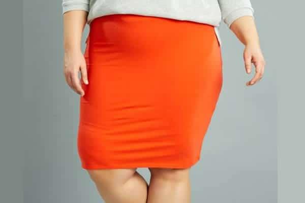 jupe rouge kiabi grandes tailles