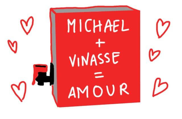 Célibataire, il se fabrique un mec en cubis de vin et ils vont trop bien ensemble !