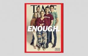 Les jeunes anti-armes américains en couverture du Time écrivent l'Histoire #MarchForOurLives