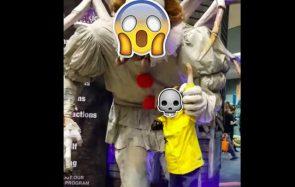 Le clown de Ça devient la déco d'Halloween la plus TERRIFIANTE du monde