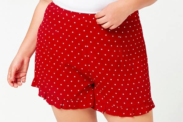 short rouge forever-21 curve