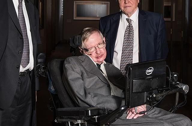 Stephen Hawking en 3 anecdotes savoureuses