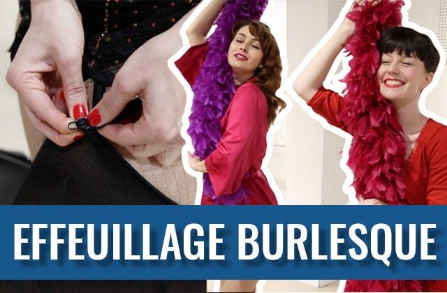 J'ai testé un cours d'effeuillage burlesque (en vidéo)